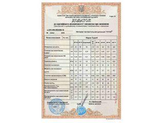 Typar SF - Додаток до сертифікату відповідності