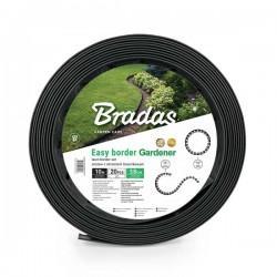 Бордюр газонный Bradas EASY BOARD 38 мм 10 м с комплектом колышков