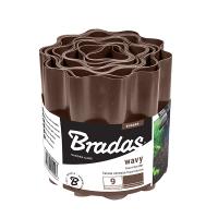 Бордюрная лента садовая Bradas волна 15 см 9 м