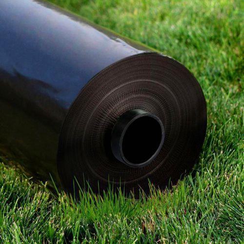Полиэтиленовая пленка черная 100 мкм 3х100 м