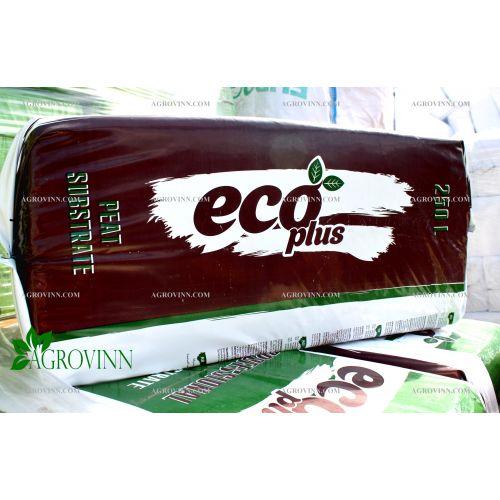 Профессиональный торфяной субстрат ECO PLUS PL-1 250 л