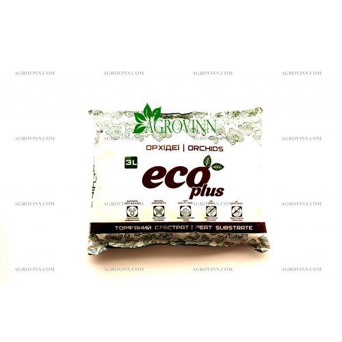 Торфяной субстрат ECO PLUS Хобби для орхидей 3 л