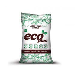 Торфяной субстрат ECO PLUS Хобби для цитрусовых 6 л