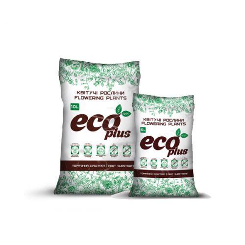 Торфяной субстрат ECO PLUS Хобби для цветущих растений 10 л
