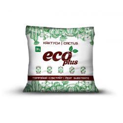 Торфяной субстрат ECO PLUS Хобби для кактусов 3 л