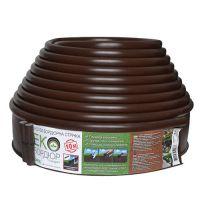 Пластиковый садовый бордюр Gartec Экобордюр Стандарт Тип 3 11 см 10 м