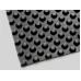 Шиповидная дренажная геомембрана Изолит Profi 0.5 1,5х20 м