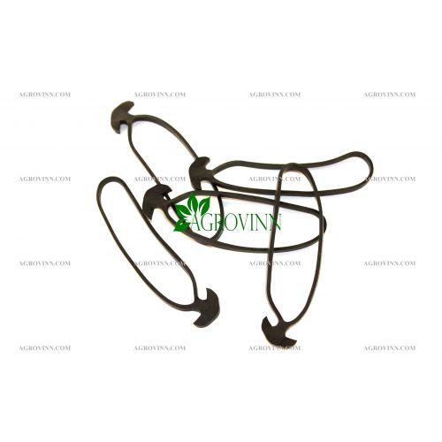 Резиновое якорное крепление GrondMeester для подвязки растений 10 см (245 шт)