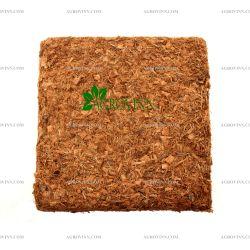 Кокосовий блок GrondMeester UNI100SS 100% чіпса 30х30х15 см 5 кг