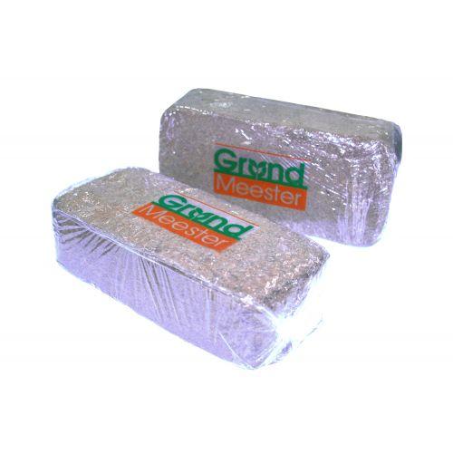 Кокосовый брикет GrondMeester UNIbrick 100% торф 20х10 см 650 г