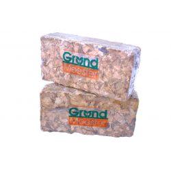 Кокосовий брикет GrondMeester UNIbrick 100% чіпса 20х10 см 650 г