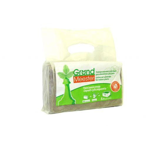 Кокосовый брикет GrondMeester UNIbrick 100% чипса 20х10 см 650 г