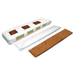 Кокосовый мат GrondMeester PRO20 80% торф+20% чипсы 100х20х8 см