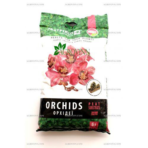 Торфяной субстрат для орхидей PEATFIELD HOBBY 6 л