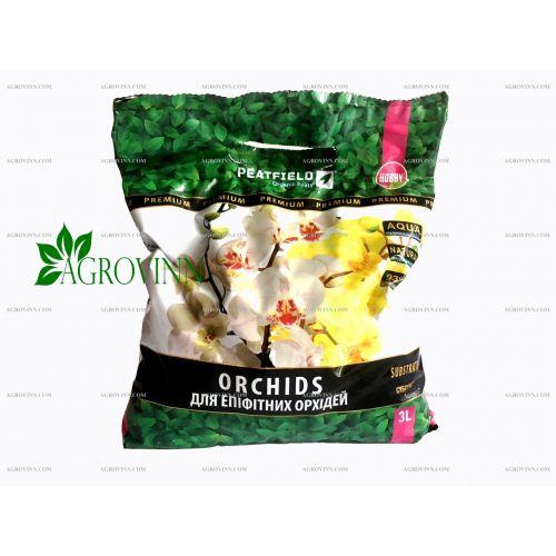 Субстрат для эпифитных орхидей PEATFIELD HOBBY 3 л