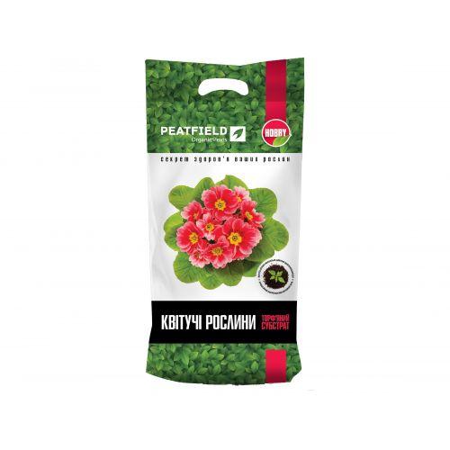 Торфяной субстрат для цветущих растений PEATFIELD HOBBY 6 л