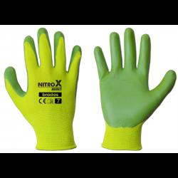 Перчатки садовые защитные Bradas NITROX MINT размер 8 (M)