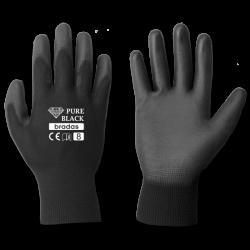 Перчатки рабочие садовые Bradas PURE BLACK размер 9 (L)