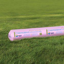 Однослойная тепличная пленка розовая Планета Пластик 150 мкм 6х50 м (стабилизация 36 месяцев)