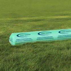 Однослойная тепличная пленка зеленая Гринс 100 мкм 6х100 м (стабилизация 12 месяцев)