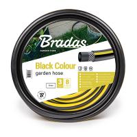 "Садовый шланг для полива Bradas BLACK COLOUR 1/2"" 30 м черный (WBC1/230)"