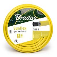 """Поливочный шланг Bradas SUNFLEX 1/2"""" 50 м желтый (WMS1/250)"""
