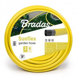 """Поливочный шланг Bradas SUNFLEX 1/2"""" 20 м желтый (WMS1/220)"""