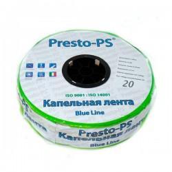 Капельная лента щелевая Presto-PS Blue Line 7 mil 20 см 2,4 л/ч 500 м