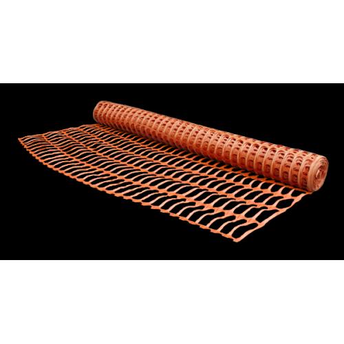 Оранжевая сетка для временного ограждения Bradas BARRIER NET 85х42 мм 1х30 м
