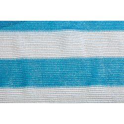 Сетка затеняющая бело-голубая KARATZIS 65% 2х50 м