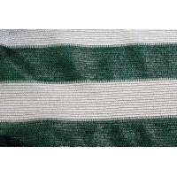 Сетка затеняющая бело-зеленая KARATZIS 65% 6х50 м
