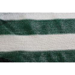 Сетка затеняющая бело-зеленая KARATZIS 65% 2х50 м
