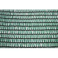 Сетка для затенения зеленая KARATZIS 50% 4х10 м