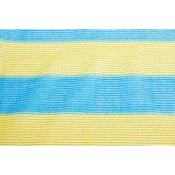 Сетка затеняющая желто-голубая KARATZIS 65% 2х50 м