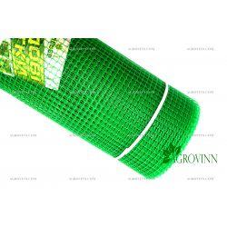Пластиковая сетка для ограждения Клевер 13х13 мм 1x20 м