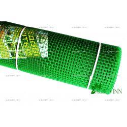Пластиковая сетка для ограждения Клевер 10x10 мм 1x20 м