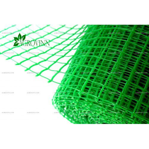 Пластиковая сетка для ограждения Клевер 20х20 мм 1x20 м