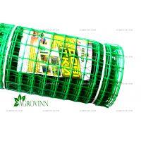 Пластиковая сетка для ограждения Клевер 50х50 мм 1x20 м