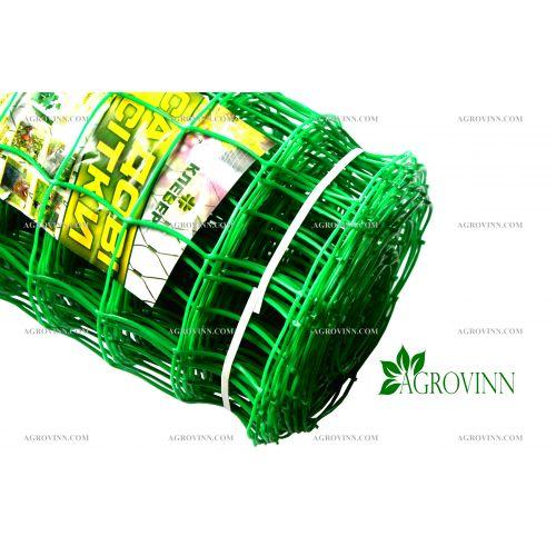 Пластиковая сетка для ограждения Клевер 85х95 мм 1x20 м