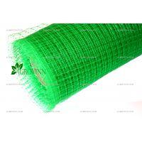 Пластиковая вольерная сетка Клевер 30x35 мм 1,5х100 м