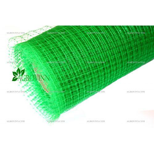 Пластиковая вольерная сетка Клевер 12х14 мм 1,5х100 м