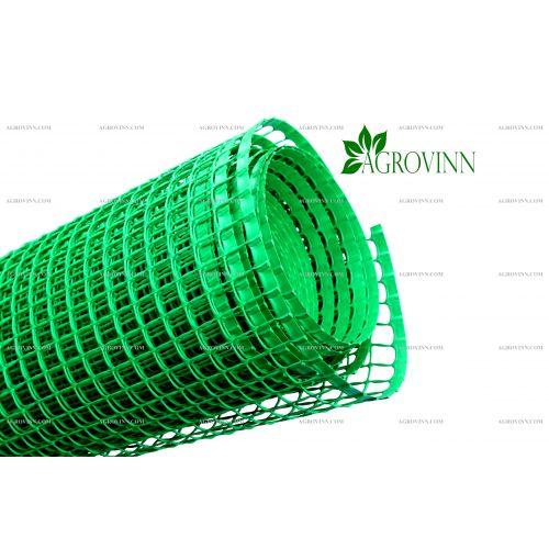 Пластиковая сетка для забора Клевер Колибри 30х30 мм 1,5х20 м