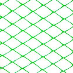 Пластиковая сетка для ограждения Клевер ромб 20х20 мм 1х20 м