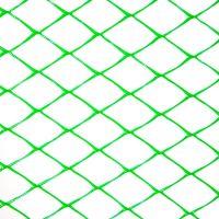 Пластиковая сетка для ограждения Клевер ромб 30х30 мм 1,5х10 м