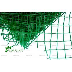 Пластиковая сетка для ограждения Клевер ромб 50х50 мм 1,4х10 м