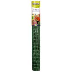 Пластиковая сетка для ограждения TENAX ХОББИ 30 32х22 мм 1х50 м