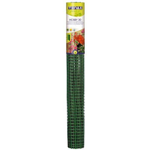 Пластиковая сетка для ограждения TENAX ХОББИ 32х22 мм 1х50 м