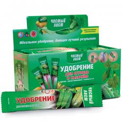 Минеральное удобрение «Чистый лист» для огурцов и кабачков 100 г