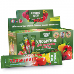Минеральное удобрение «Чистый лист» для помидоров и перца 100 г