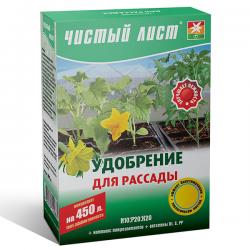 Минеральное удобрение «Чистый лист» для рассады 300 г